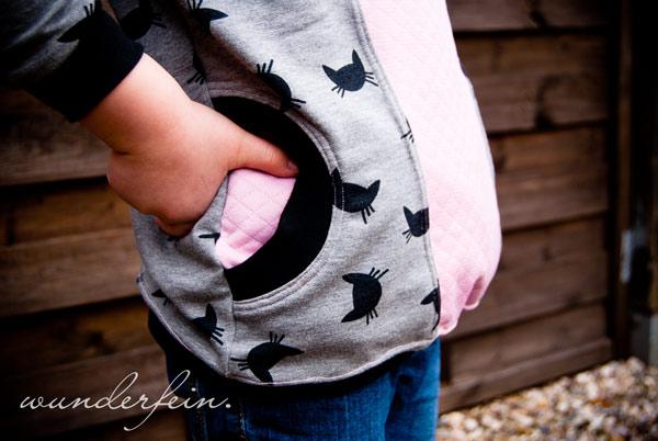 Hoodie Mikka Wunderfein - Tasche