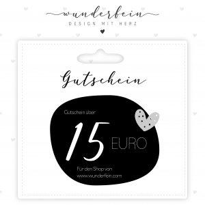 Gutschein 15 Euro www.wunderfein.com